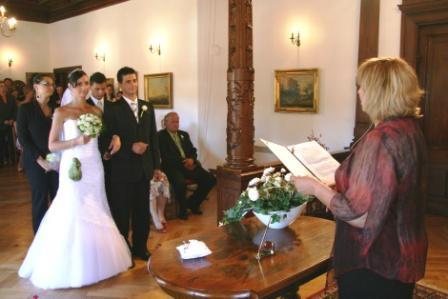 Kateřina Štoudková{{_AND_}}Roman Flek - S paní starostkou, měla krásný projev, napsaný jen pro nás