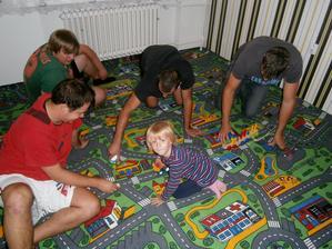 Položený koberec