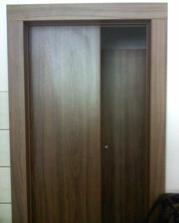 Posuvné dveře - bílé