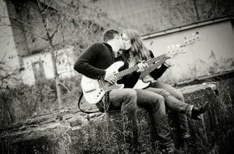 Dva zamilovaný basáci :) hledali sme se a našli. už to je 5 let