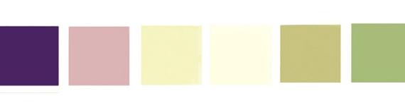 Paleta definitivní, tmavě fialové budou pouze šaty svědkyně :)