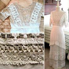 díky těmto viktoriánským šatům jsme se rozhodly pro svatbu, jaká u nás bude