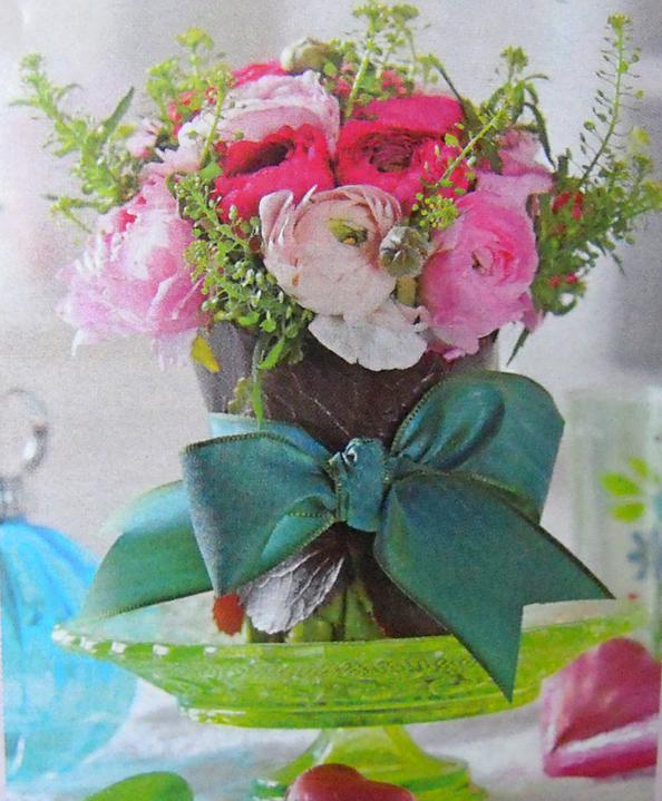 Herbert lidoop a spol..  4. 6. 2011 - naprosto nádherná kytice pryskyřníkú, nalezená u babi v časopisu :)