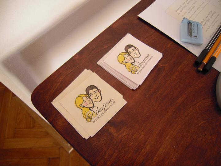 Herbert lidoop a spol..  4. 6. 2011 - dekovacky se nalepi na krabicku s vysluzkami