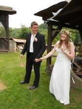 chá a už máme po svatbě :)) fotila sestřička :)