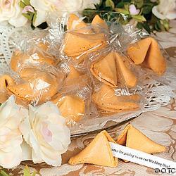 My dream wedding - Fortune cokies