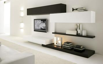 takto nějak bude řešená stěna s TV
