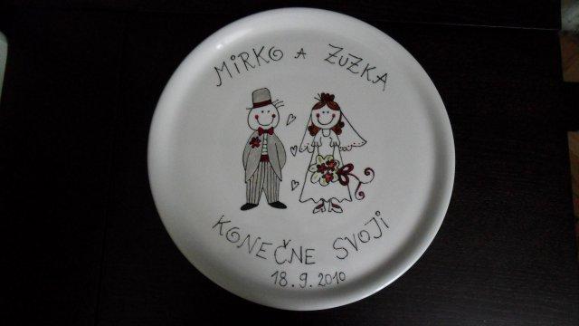Mirko+Zuzka - Náš tanierik:)
