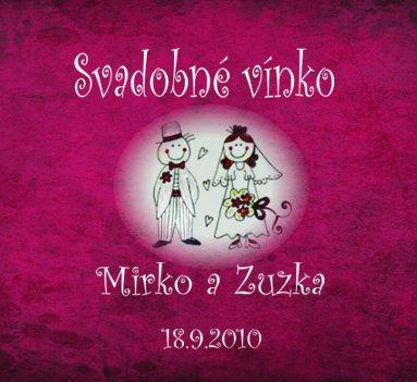 Mirko+Zuzka - Etiketa na vínko