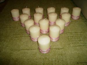 ozdoba svíček