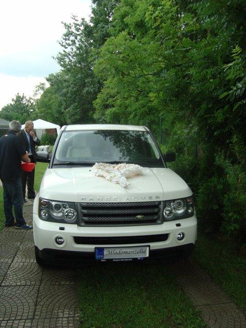 Moje predstavy - Svadobné autíčko - RANGE ROVER