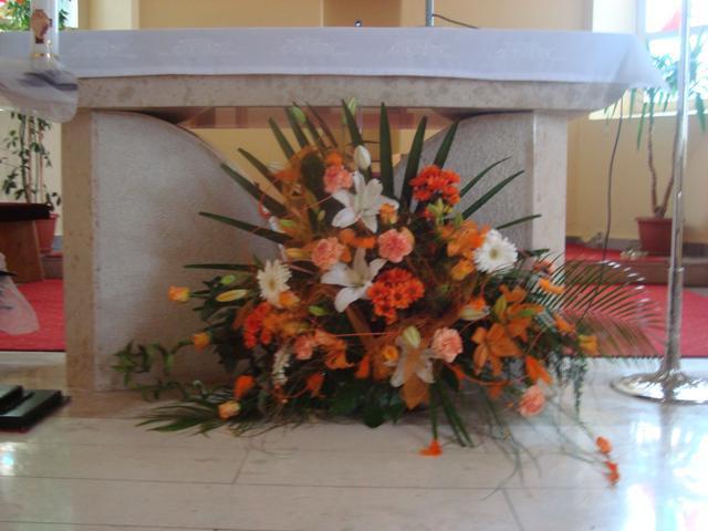 Moje predstavy - Ikebana v kostole