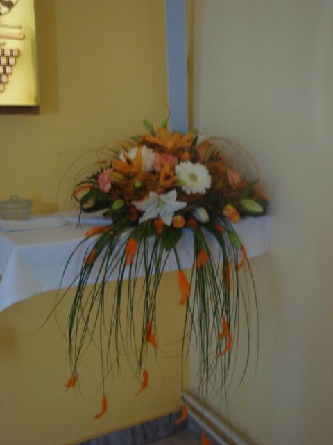Moje predstavy - Dalšia ikebana v kostole