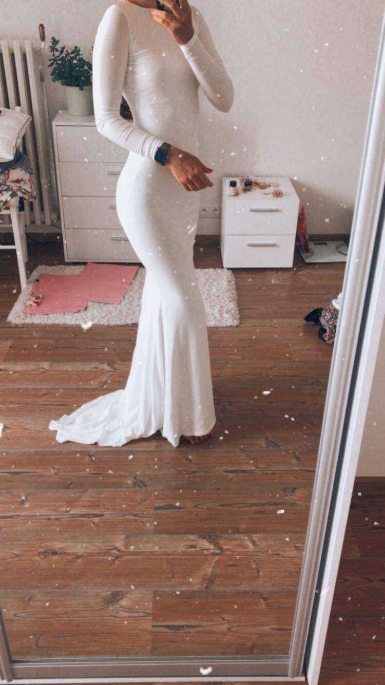 Svadobné/popolnočné šaty - Obrázok č. 1