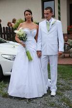 to jsme mi dva, mé vysněné svatební šaty.