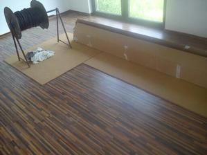robíme podlahu 05/2013