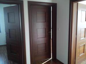 pohľad z chodby na izby