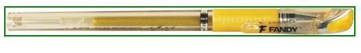zlate pero na jmenovky