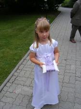 Tak tahle princezna Martinka nam nesla prstynky :-)