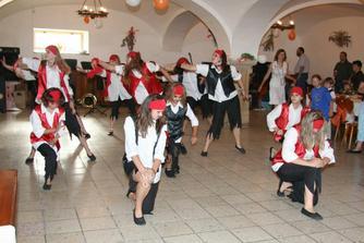 Taneční skupina ORDA - vystoupení Piráti...
