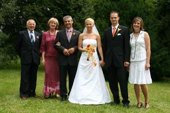 s rodinou Marešovic