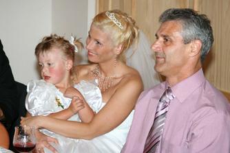 S neteřinkou Terinkou - malou princezničkou a s a Pájovym taťuldou