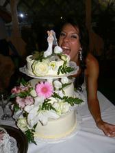 tak hlavnu tortu som ani nechutnala.... :-(