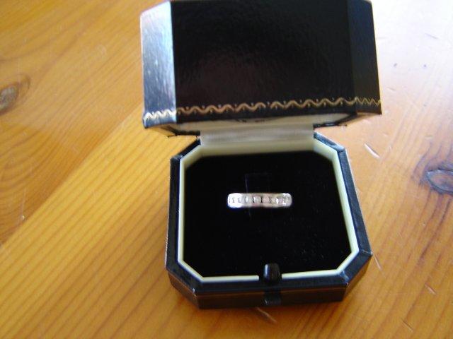 Pripravy na moju svadbu - moj zasnubny prstienok