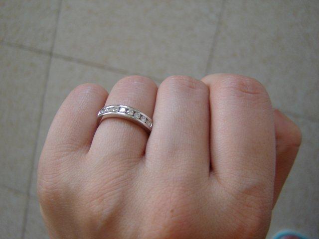 Pripravy na moju svadbu - a tu je blizsie, biele zlato a 9 malych diamantov