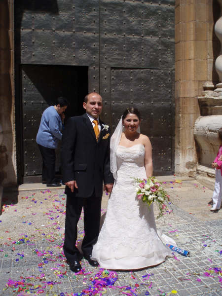 Pripravy na moju svadbu - Sergio i Charo, 3. maja 2008