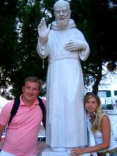 požehnal nám i padre Pio