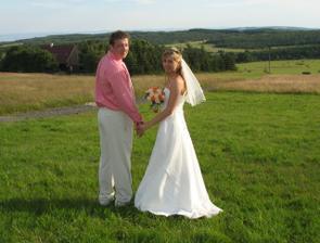 svatba na horách - krááása!
