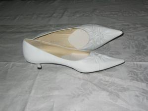 takové botičky mám na svatbu!