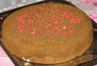 svatební dortík pro chuť