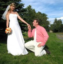 svatba na horách - nádhera!