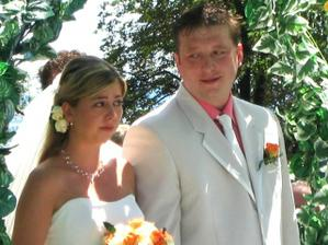 dojatá nevěsta - prostě to přišlo a nedalo se tomu zabránit :o)))