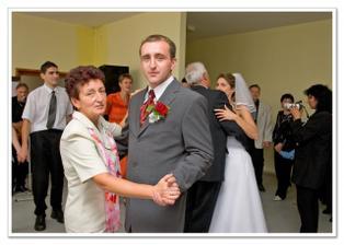 první taneček s mamkou