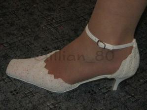 takhle vypadají střevíčky na noze