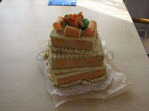 takhle si cukrářka představuje náš svatební dort podle předložených obrázků :-( skoro jsem se rozbrečela - Fashion Café