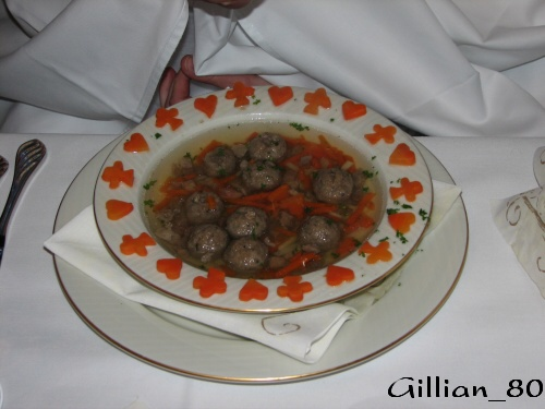 """Naše """"krásná"""" polévka :-)"""