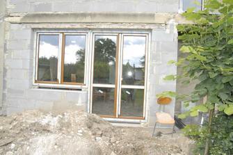 """Moje budoucí dílna a úžasné Francouzské okno na """"budoucí"""" terasu..."""
