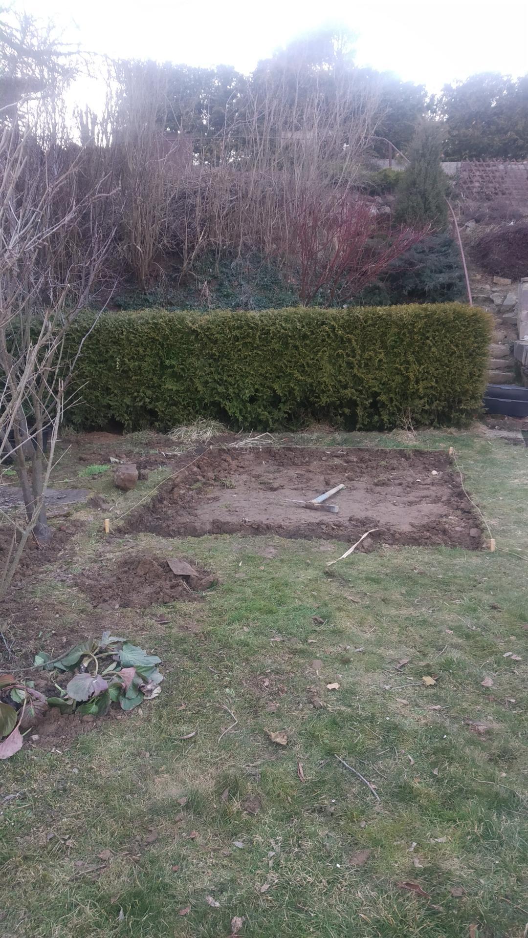 Zahrada 2021 a budování skleníku - Obrázek č. 7