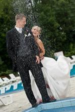 i když nám toho štěstí za ten den pršelo dost, tak jsme si ještě pustili sprchu :o)