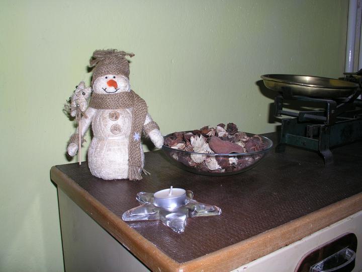 Vánoční svátky u nás doma - Sněhulák tomu všemu šéfuje :)))