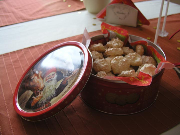 Vánoční svátky u nás doma - První cukroví...