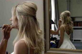 takto jsem chtěla mít učesané vlasy..nakonec ale budou rozpuštěné