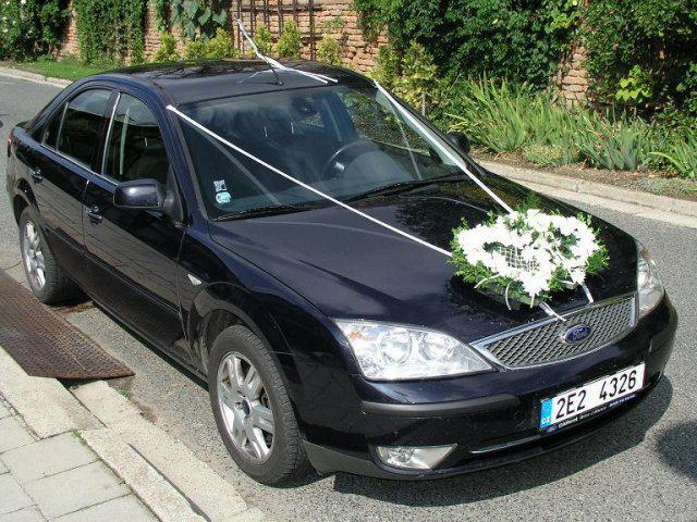 Zuzka(Consti){{_AND_}}Petr - auto nevěsty