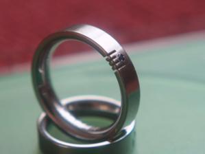 Naše prstýnky z chirurgické oceli:)
