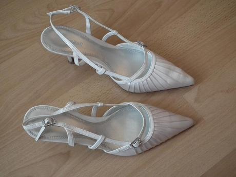 Snehobiele svadobné topánočky č.  - Obrázok č. 1
