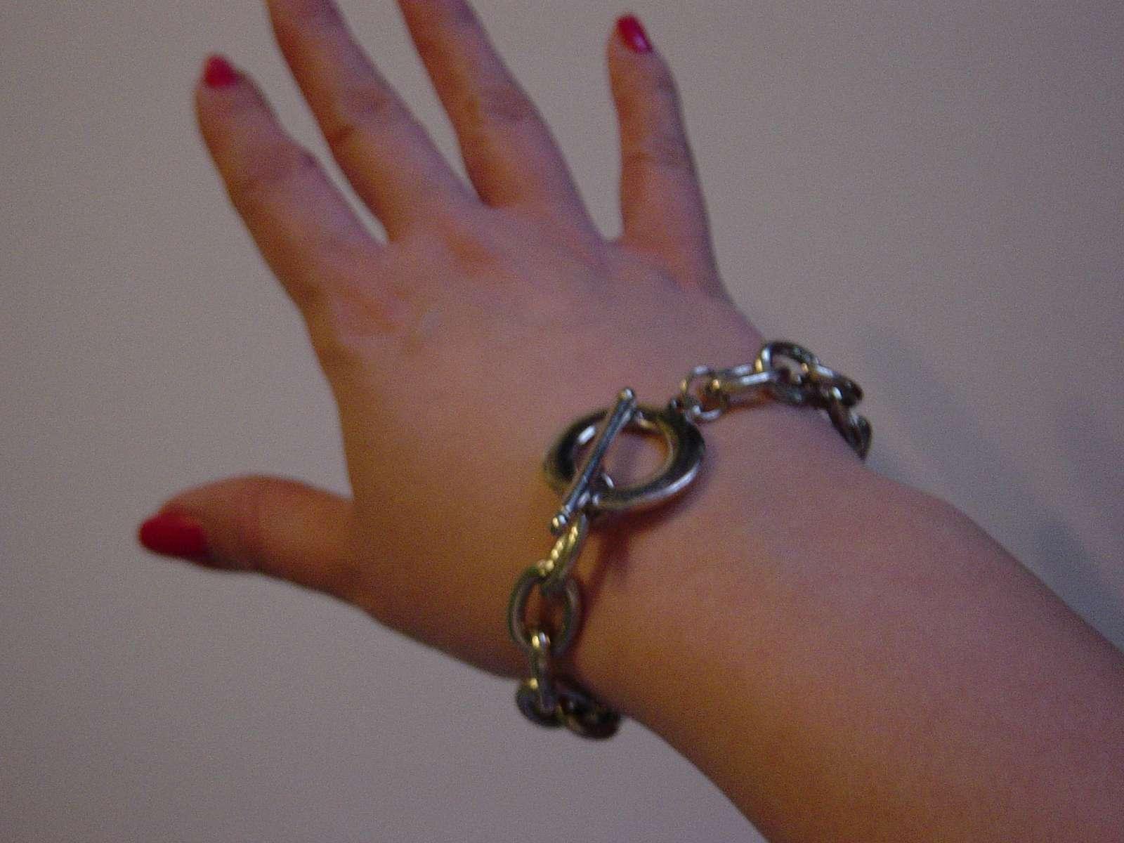 Náramok - retiazka na ruku - Obrázok č. 2